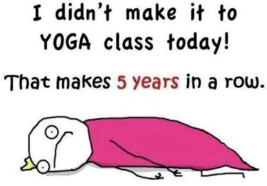 Yoga Class Slacker
