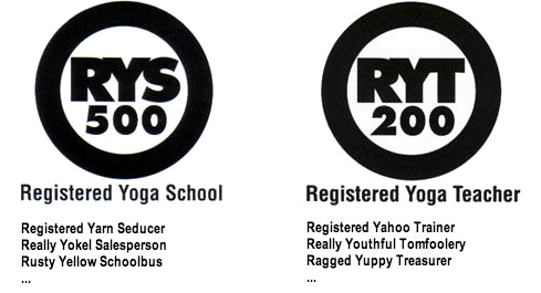 Yoga Alliance Registered