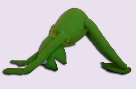 kermit-yoga-downdog