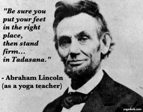 Abraham-Lincoln-yoga-teacher