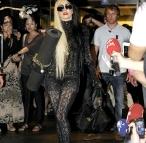 Lady Gaga Yoga Fashion