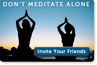 Don't Meditate Alone