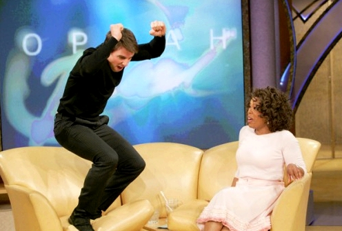 Tom Cruise Oprah Yoga