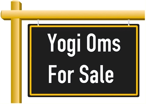 Yogi Oms For Sale Sign